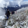 暖冬の飯縄山
