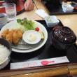 宮島SA「かきフライ定食」