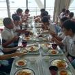 集団宿泊 最後の昼食