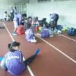 小・中学女子のトレーニングマッチ