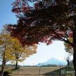 武甲山、秋色の中。