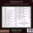 キアラ・マッシーニChiara MassiniのBachのチェンバロ曲を聴く。