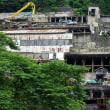解体中の神子畑選鉱場