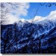 (1-2) 粉雪舞う大山弥山山頂から(絶景の山頂)