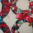 三つ編みクリスマスリース