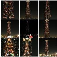 20001216千葉ポートタワークリスマスツリー