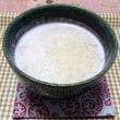 ホシサンのあまざけ麹を使って、甘酒作り