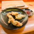 2017.09.06の夕食 広島最後の夜は『当力(あたりき)』でホルモン天ぷら!