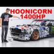 【静電気対策:電気の上手い流し方と拡散?】Ken Block's 1,400hp AWD Ford Mustang Hoonicorn V2: Straight from Gymkhana TEN!