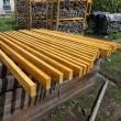 薪棚材塗装、薪積み替え、ちょっと薪割り、スズメバチ退治