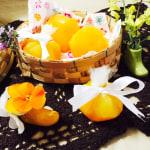 ゼリー玉 運動会にミカン入りオレンジゼリー