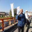 滝谷不動尊の縁日で憲法9条を守る3000万人署名行動を行いました!