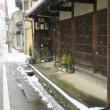 雪の寺町③、泉野ほか
