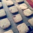 マカダミアナッツのクッキー*