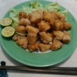 【食】ショウサイフグの刺身・唐揚げ