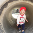しろ 1歳児 戸外遊び
