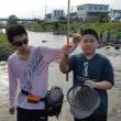 小中学生、子供釣り教室に参加