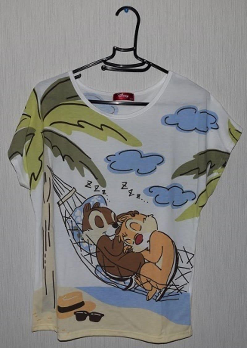 2399  (・´`(◆)   止まらない (・・・笑)、  チップ&デール新作Tシャツ