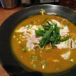 赤坂でカレー麺
