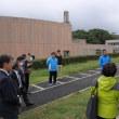 筑波大学の陸上競技場について視察しました。