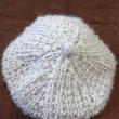 'ユリカ モヘア' で、ベレー帽。