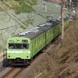 奈良線の103系を撮る(運用減)