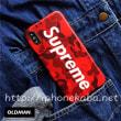 Supreme シュプリーム iphoneX/8/6sケース 迷彩柄 ブランド iphone7/6plus カバー 落書き 個性