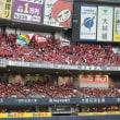 赤く染まった京セラドーム