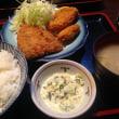 今日のランチは鯵&牡蛎フライ定食!
