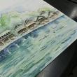 ウイングス京都 水彩画教室の生徒さん作品