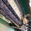 ジャガード織物とプリントとときどきレーザー加工
