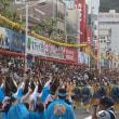 徳島市長が中止を命じた阿波おどり「総踊り」を13日夜に決行