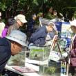 石神井公園で「一日水族館」