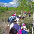 つつじヶ原でビンゴ! Kawayu elementary school students