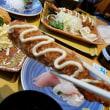 闘尿病日記(31) 「まるは食堂 中部国際空港店」~ 三昧定食 (エビフライ&キスフライ&マグロフライ&お刺身) ~