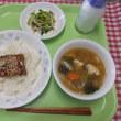 9月8日の給食 6年生菊の花びらつみ