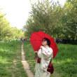 ベルリン・花見フェスタにて。