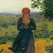 150年前の絵画にiPhoneを見ながら歩く女性の姿