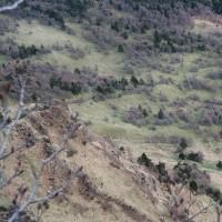 カラマツ黄葉が見たくて「浅間山」へ