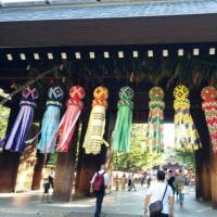 靖国神社へ行ってきました。
