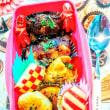 [小樽]娘の今日のお弁当・芋もちと牛肉巻きお握り🍙弁当グルメ案内です。