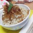 生姜の佃煮 & 玄米ごはん(新米こしひかり) きょうの朝ごはんッ 前編