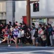 2018年恒例の箱根駅伝、第94回往路2区応援