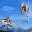 26%大値下げ-XK AS350 K123 6CH ブラシレス 3D6G システム RC ヘリコブター BNF送料無料
