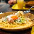 蟹のトマトクリームパルメナーラ