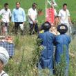 中国  プイ族「六月六」の五穀豊穣祈願