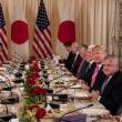 <安倍首相訪米:日米首脳会談>新通商交渉開始へ、米の2国間交渉への関心承知=安倍首相。同時通訳記者会見