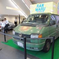 新宿ピカデリーに、何やらとっても怪しい車が展示してありました。堤幸彦監督の最新作・・・