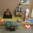 季節の展示コーナー:五月人形を展示中