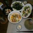 〆はステーキ&イカスミうどん(海老or蝦?)